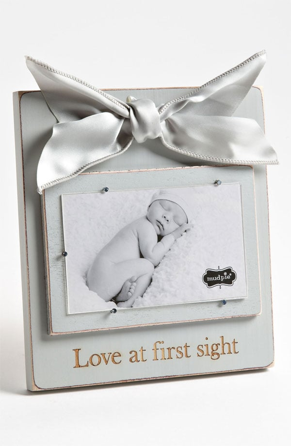 Mud Pie Love At First Sight Frame Christening Gift Ideas