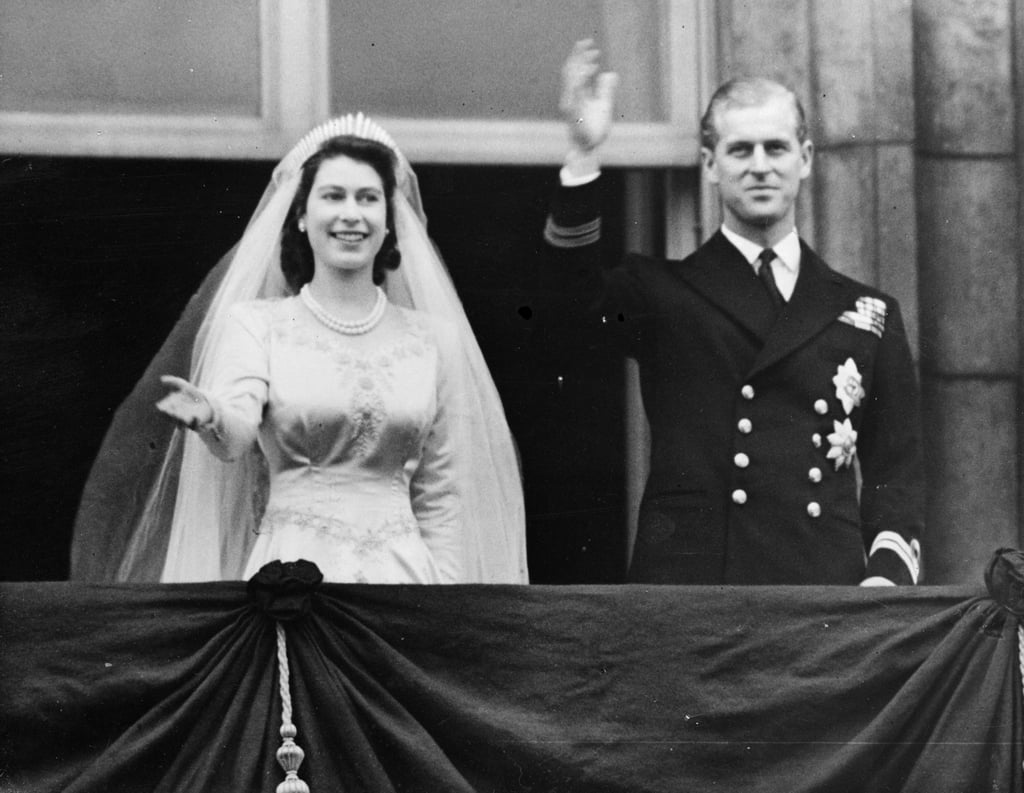 Elizabeth would become Queen four years later after the death of her father, King George VI. She and Philip would go on to have four children; Princes Charles, Andrew, and Edward, and Princess Anne.