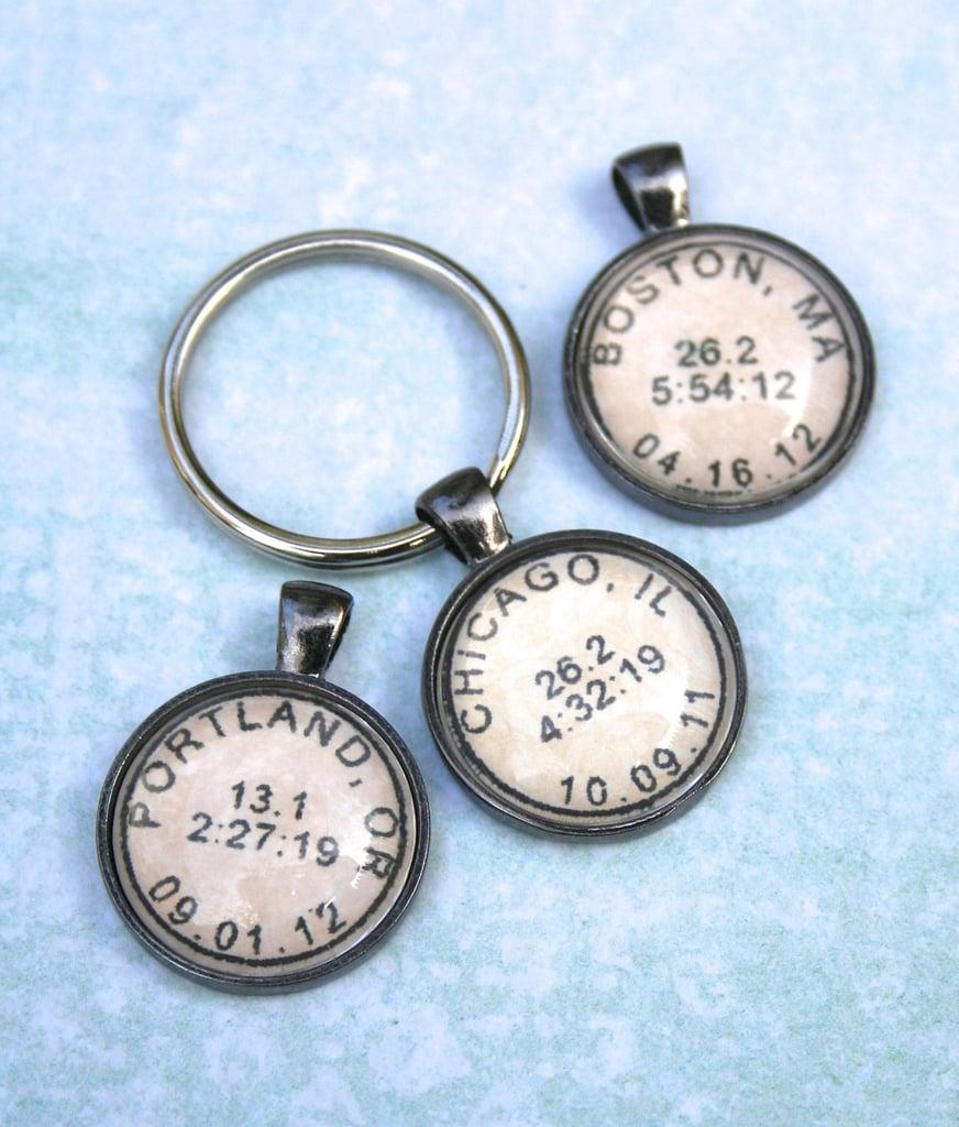 Marathon Keychain