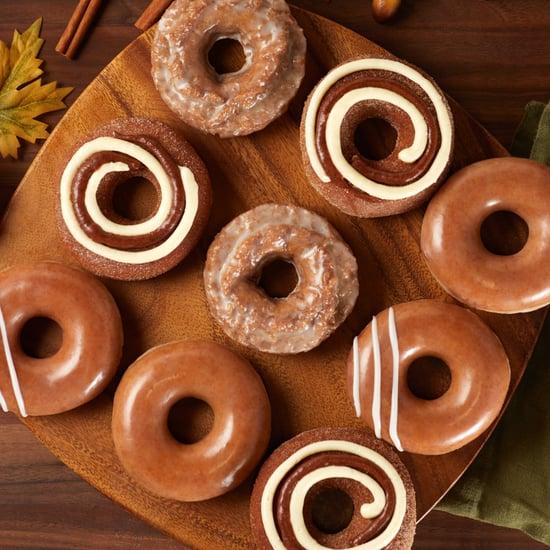 Krispy Kreme's New Pumpkin Spice Cinnamon Roll Doughnuts