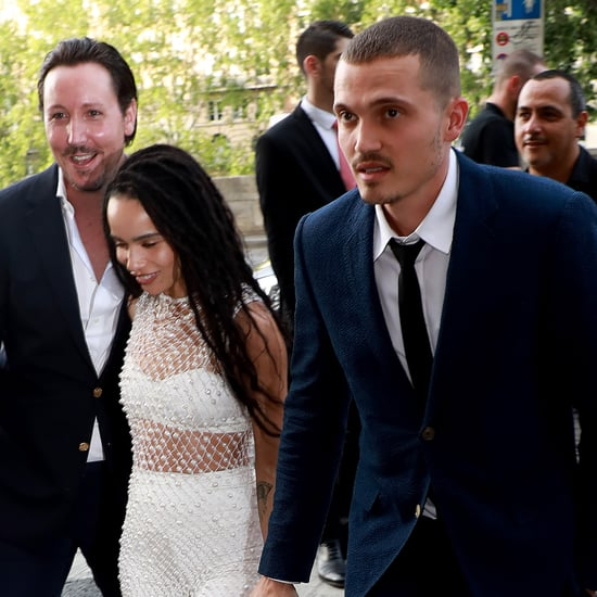 Zoë Kravitz and Karl Glusman Wedding Rehearsal Dinner Photos