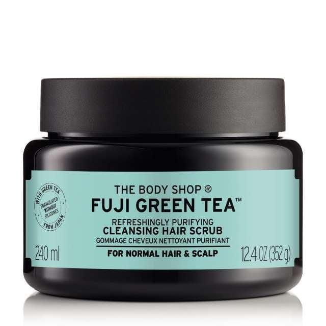 The Body Shop's Green Tea Cleansing Hair Scrub