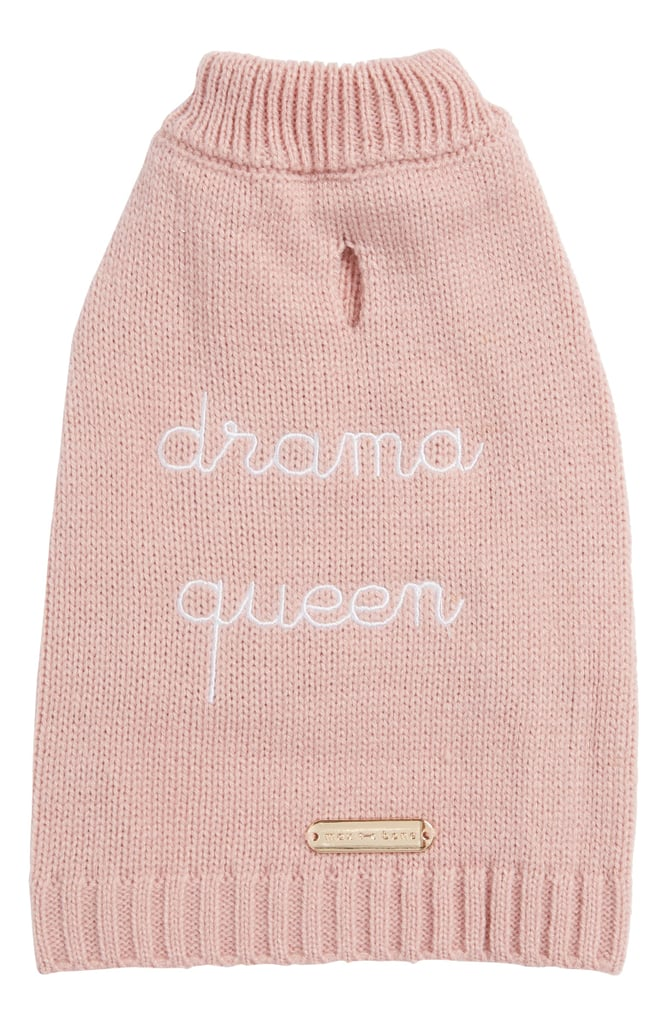 max-bone Drama Queen Dog Sweater