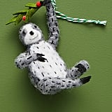 Mistletoe Sloth Ornament