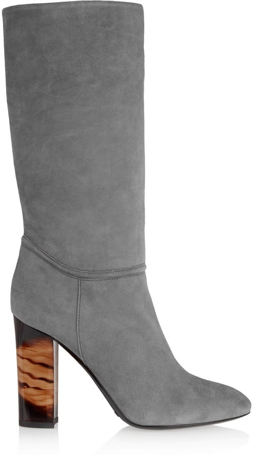 Burberry London Suede Boots ($1,395)
