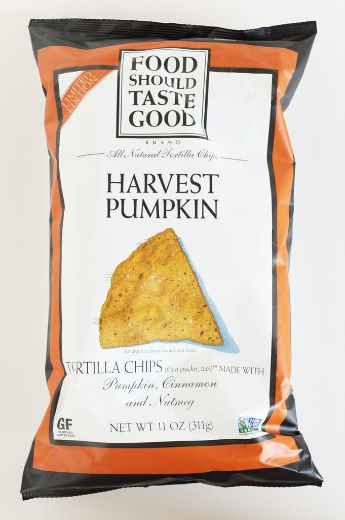 Food Should Taste Good Harvest Pumpkin Tortilla Chips