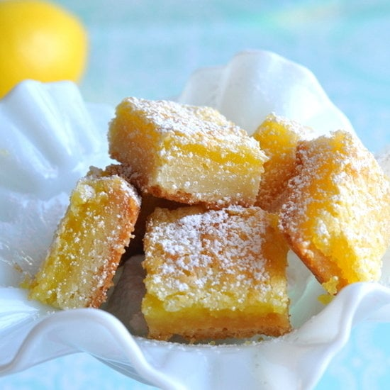 Happy Mini Lemon Bars