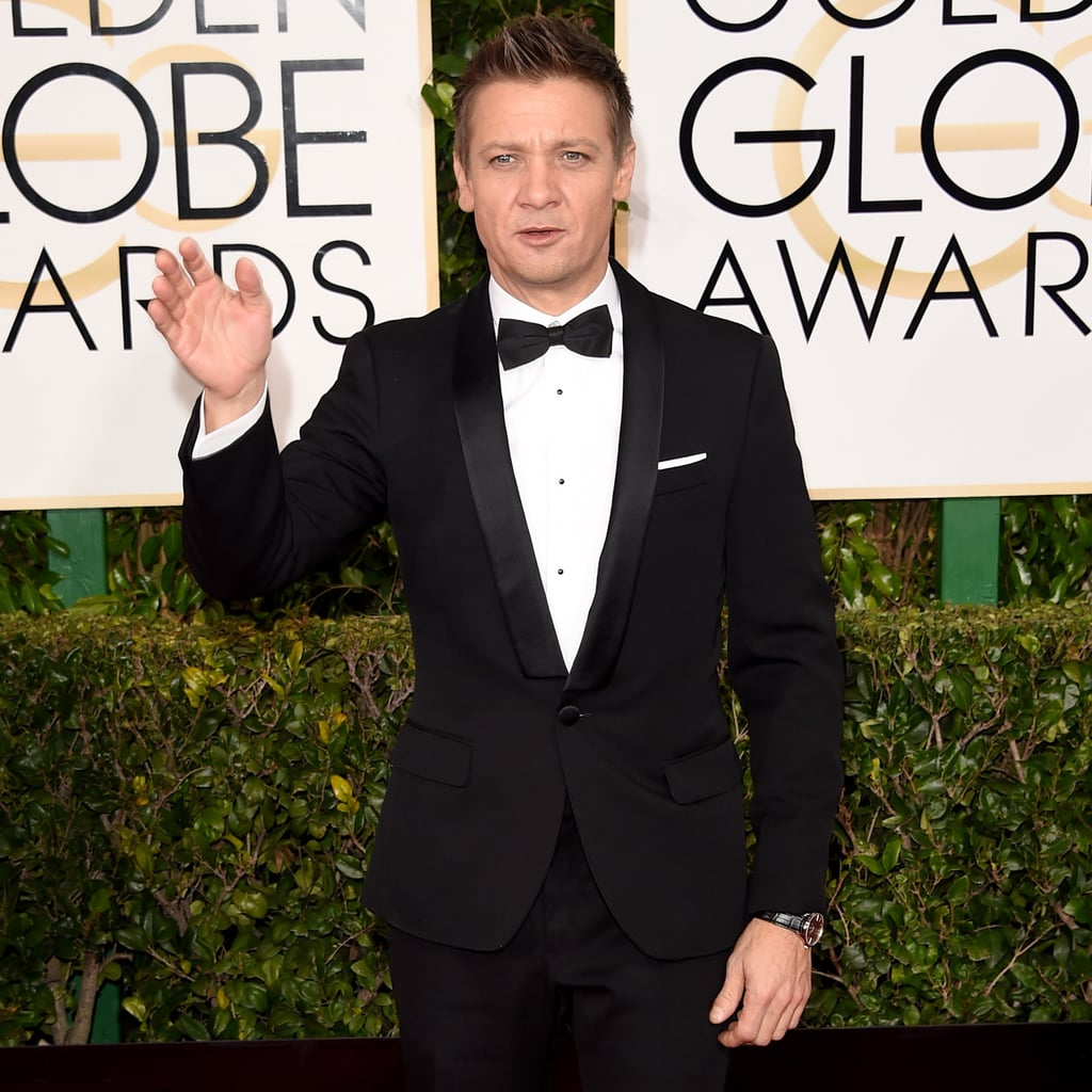 Yes, Jeremy Renner Really Said That at the Golden Globe Awards
