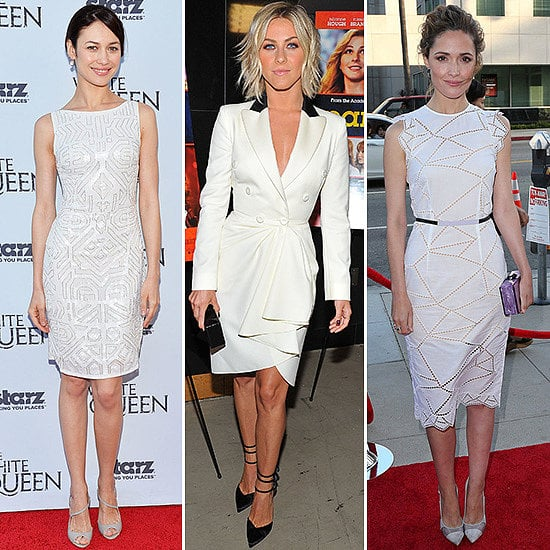 White Dress Inspiration | Celebrity Pictures