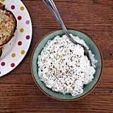 Try cottage cheese as a low-calorie alternative. It's packed full of protein that will keep you fuller for longer.