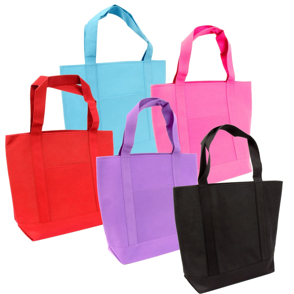 Large Solid-Colored Tote Bags ($1 each)