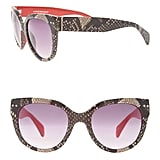 Lane Bryant Snake Sunglasses