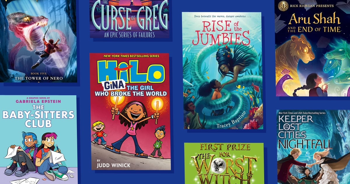 35 Book Series For Tweens, From Stories About Greek Gods to Kids on a Track Team