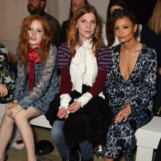 Celebrities at London Fashion Week | Autumn Winter 2017