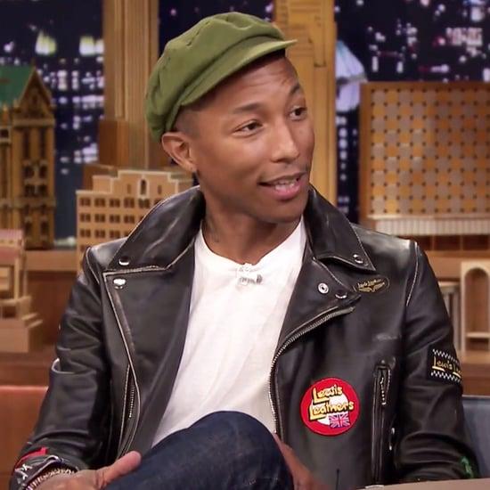 Pharrell Williams and Jimmy Fallon Talk About Missy Elliott