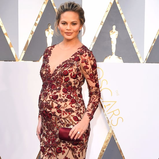 Chrissy Teigen Red Dress
