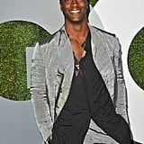 Aldis Hodge, Come Through With the Silver Pantsuit!