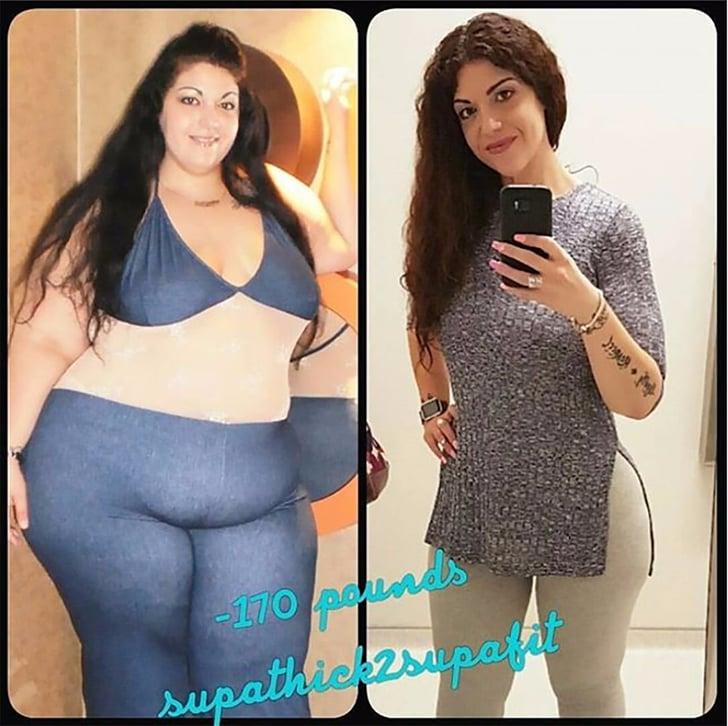 170 Pound Weight Loss Transformation Popsugar Fitness