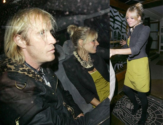 Sienna Parties With Rhys And Prince
