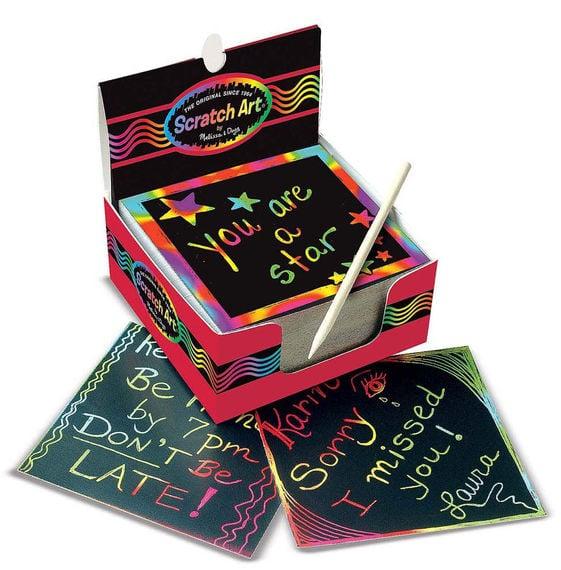Scratch Art Box of Mini Notes