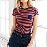 BDG Striped Shrunken Tee ($22)