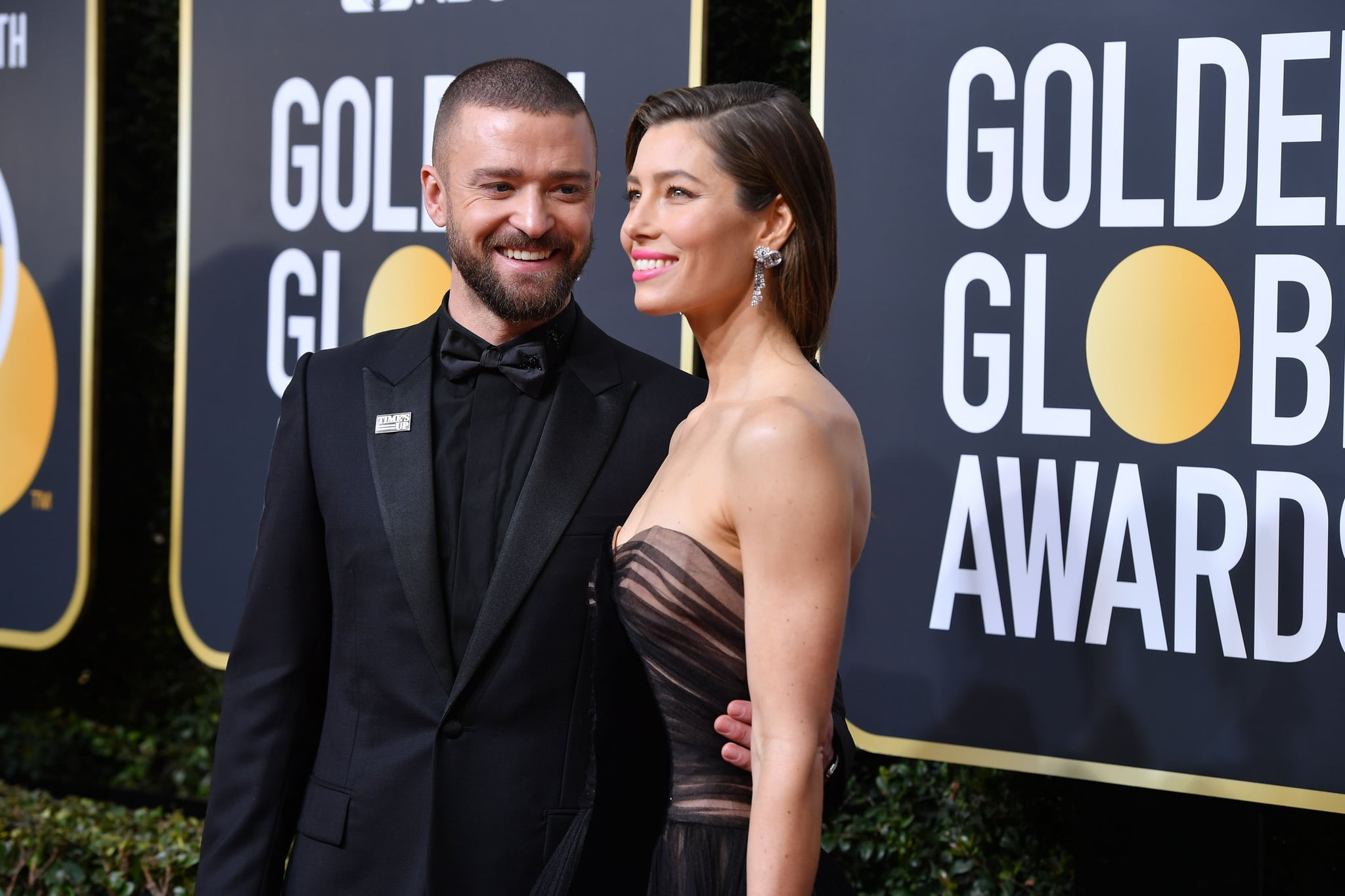 BEVERLY HILLS, CA - JANUARY 07:  Musician Justin Timberlake and actor Jessica Biel attend The 75th Annual Golden Globe Awards at The Beverly Hilton Hotel on January 7, 2018 in Beverly Hills, California.  (Photo by George Pimentel/WireImage)