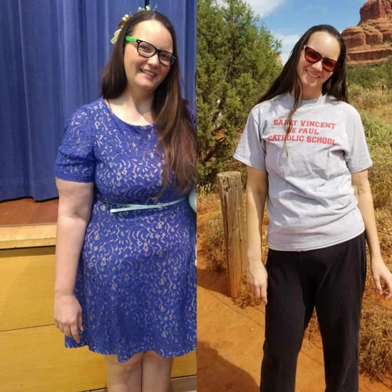 This Teacher's 111-Pound Weight-Loss Transformation Is an A+
