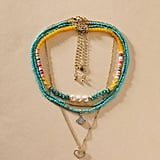 Shein 4 pc. Colourful Beaded Necklace