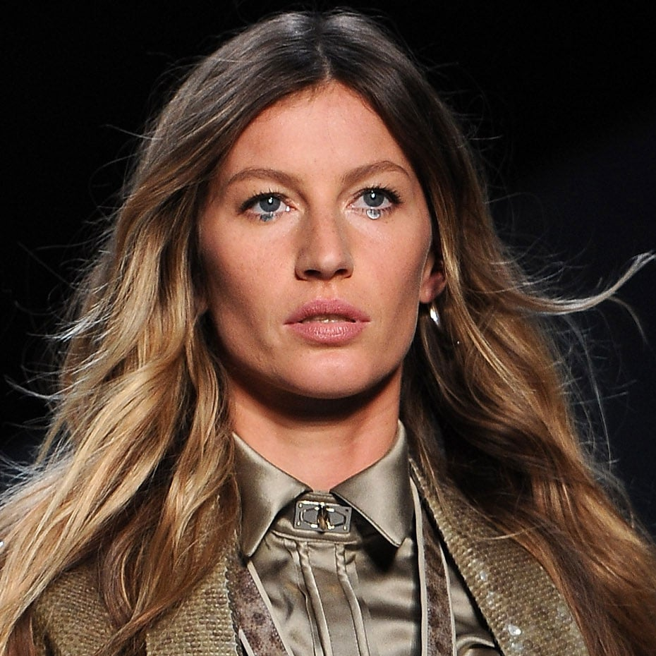 Gisele Bundchen walks for Givenchy.
