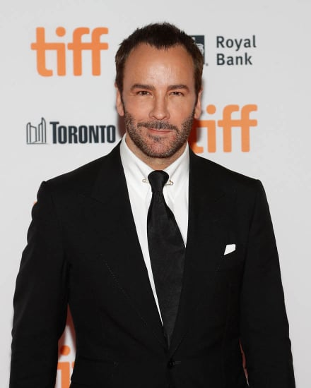 Tom Ford in a wonderful mood and breathtakingly hot Aaron Taylor Johnson at TIFF premiere of Nocturnal Animals