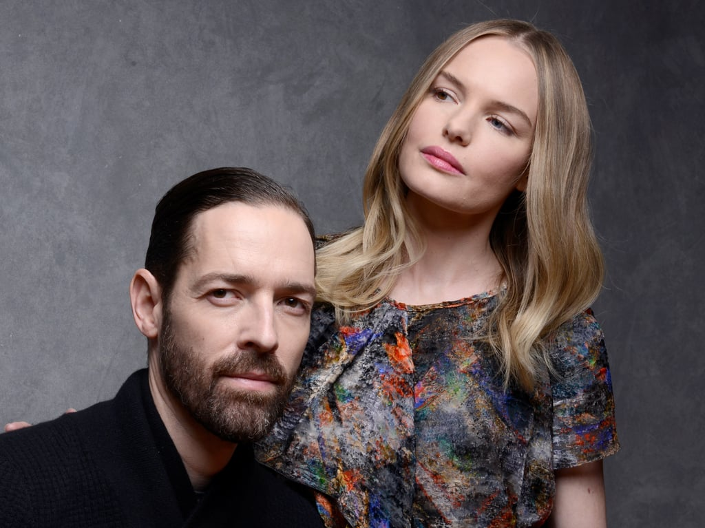 Michael Polish and Kate Bosworth took portrait photos to promote Big Sur at the Sundance Film Festival in Park City, UT.