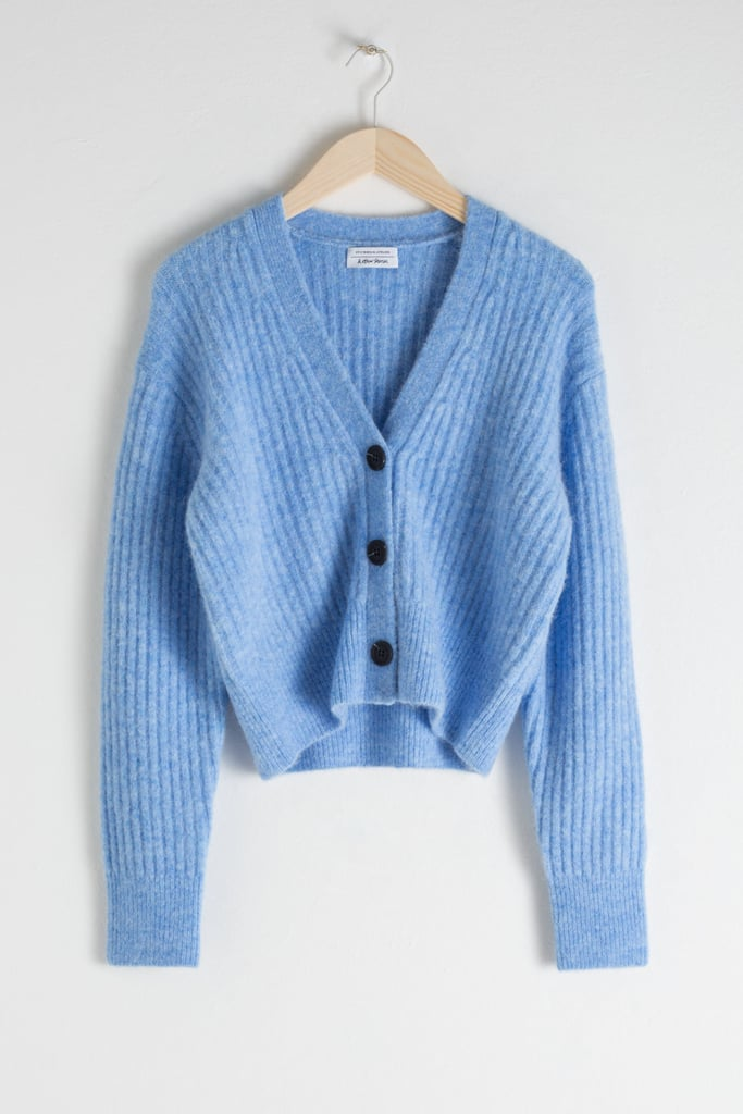 & Other Stories Wool Blend Cardigan