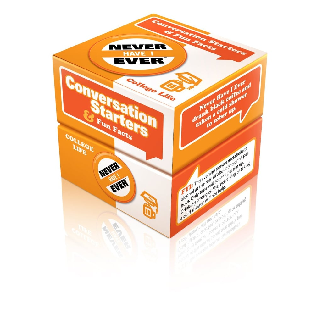 Never Have I Ever Conversation Starters Card Game
