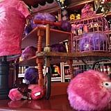 Zonko's Joke Shop is accessed through Honeyduke's.