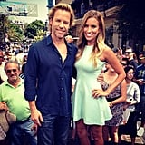 Renee Bargh interviewed fellow Aussie Guy Pearce on Extra! Source: Instagram user reneebargh