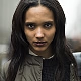 Model Cora Emmanuel showed off the moody colors for Fall in the most flawless way. Source: Le 21ème | Adam Katz Sinding
