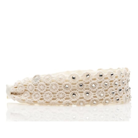 Forever New Circle Crochet Crystal Alice Band, $14.99