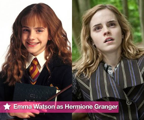 Pictures of Emma Watson as Hermione Granger in Harry Potter Through the Years in All Films