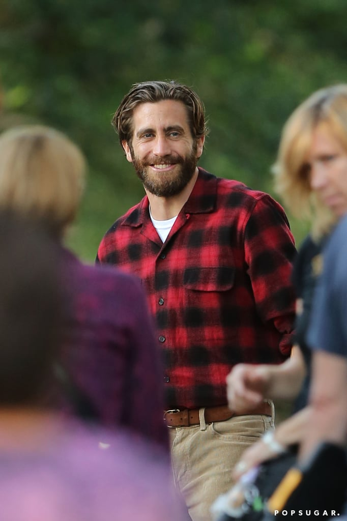 Jake Gyllenhaal Basically Looks Like the Mountain Man of Your Dreams