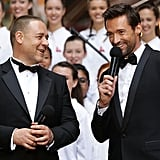 Russell Crowe and Hugh Jackman