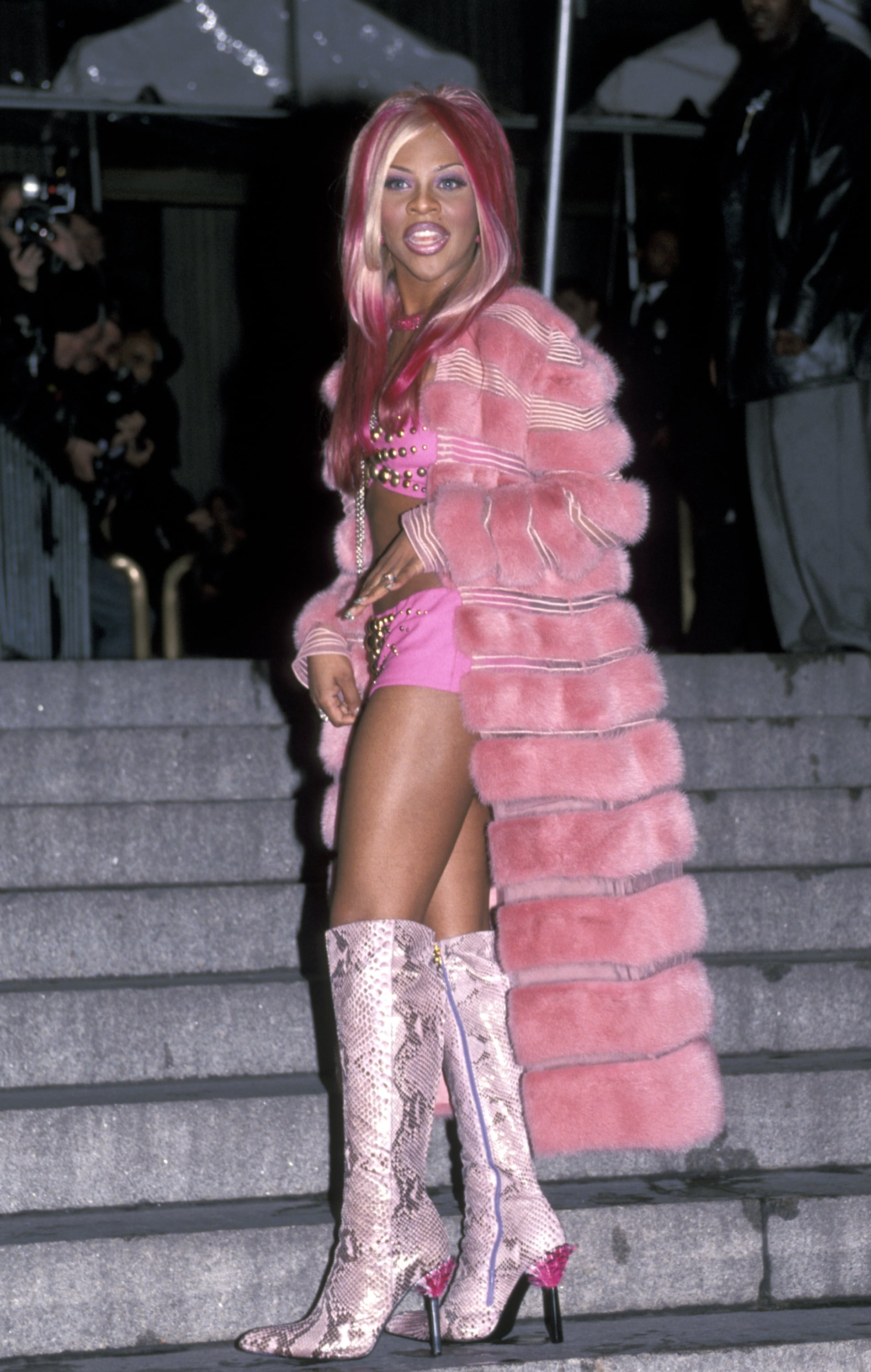Lil' Kim (Photo by Ron Galella/Ron Galella Collection via Getty Images)