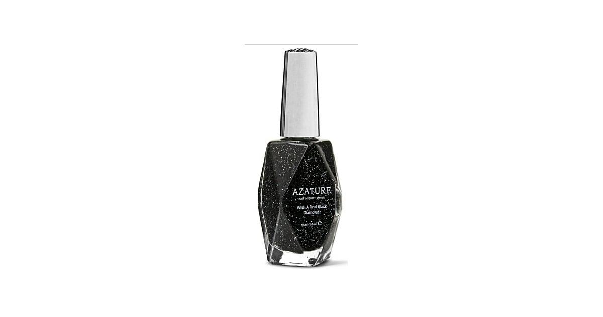 Azature Black Diamond Nail Lacquer | The Most Expensive Manicure ...