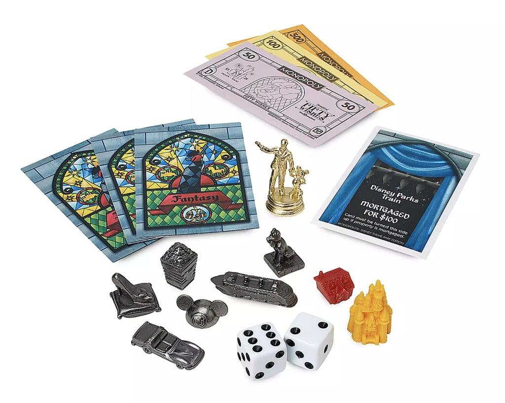 Disney Parks Theme Park Edition Monopoly Game Pieces