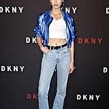 Soo Joo Park at the DKNY Party During New York Fashion Week