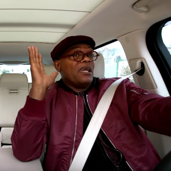 Brie Larson and Samuel L. Jackson Carpool Karaoke Video