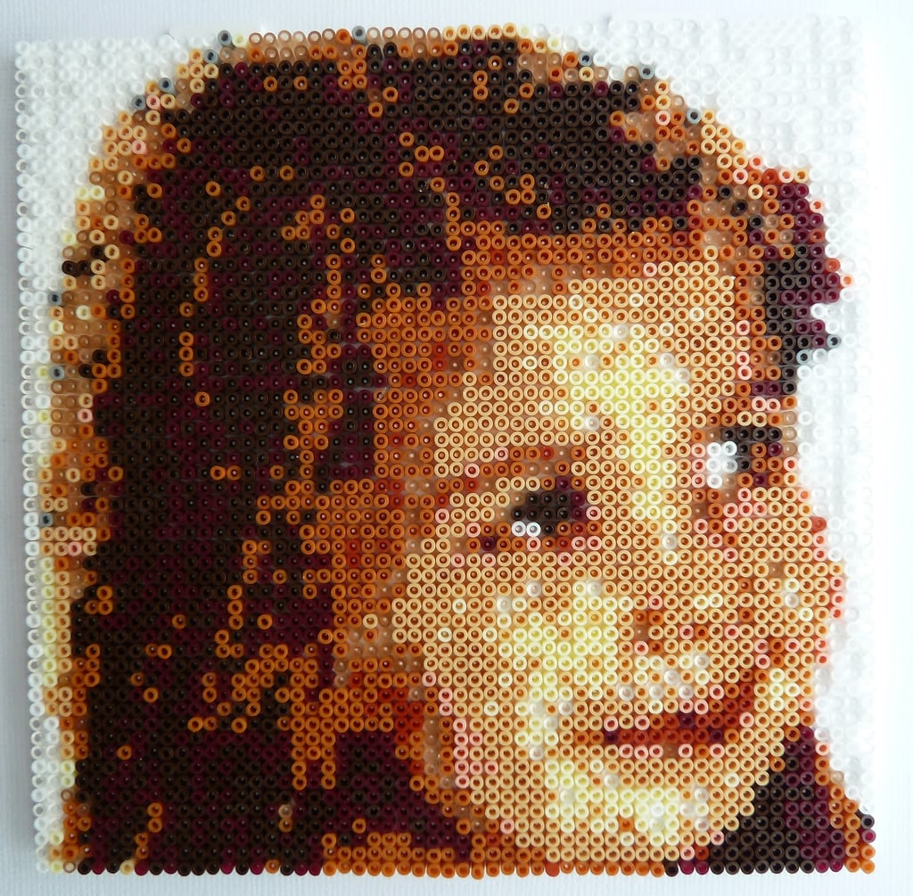 Hama Bead Portrait