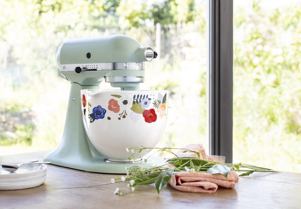 Scandi Floral Kitchenaid S New Stand Mixer Ceramic Bowl