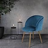 Eggree Mid-Century Living Room Velvet Accent Chair ($92-$96)