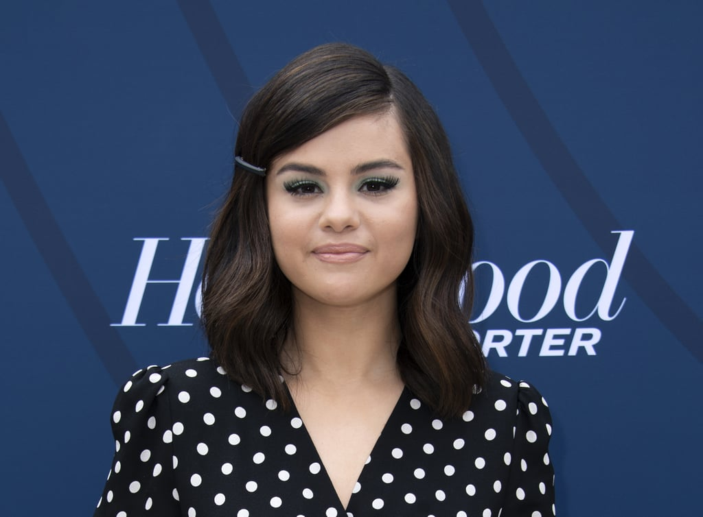 Selena Gomez's Green Shadow in April 2019