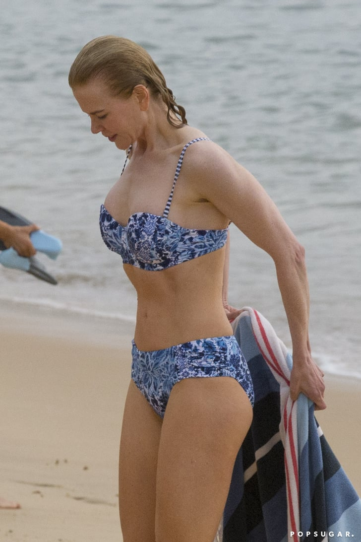 Lucky 8 Auto >> Nicole Kidman in a Bikini on the Beach in Sydney 2016 | POPSUGAR Celebrity Photo 4
